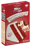 Puppy Cake red velvet cake mix for dogs