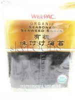 2 packages  Wel Pac Organic seasoned seaweed snacks