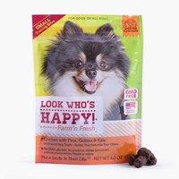 Look Who's Happy Dog Treats - Chicken with Peas, Quinoa & Kale
