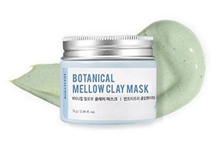 Bonvivant Botanical Mellow Clay Mask - Green Scrub Clay