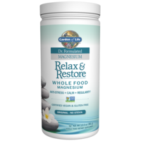 Dr. Formulated Relax & Restore Whole Food Magnesium by Garden of Life