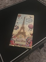 Marie Bouvero chocolate bar Paris Ballon pattern