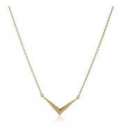 Melinda Maria Amari Mini Necklace Gold