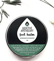 Addictive Apothecary Peppermint & Rosemary Foot Balm