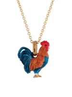 Les nereides rooster necklace