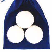 100% Sheep Wool Dryer Balls- Set of 3