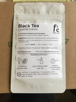 Black Tea - Caramel Creme