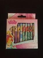 Disney Princess Box of 24 Crayons