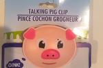 Talking Pig Chip Clip