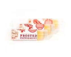 Live Beautifully Frosted Peppermint Lip Balm