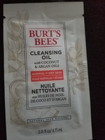 Burts Bees cleansing oil