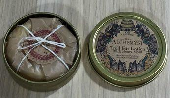Troll Fat Lotion Bar in Black Honey Mead