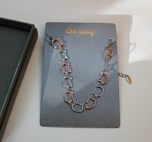 Links of Love Kitty Necklace