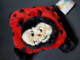 Zippy Paws Squeakie Pad Ladybug