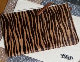 Maison Francaise 1951 Beige Zebra XL Bag - NEW