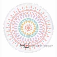 Gypsy Roundie in Warm Geometrical