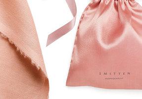 Sephora Play! Smitten February 2017 Rose Gold Drawstring Bag
