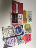 11 assorted gourmet teabags