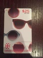 Velvet Eyeware $25 Gift Card
