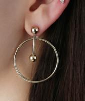 Adornmonde Ivo Earrings in Silver