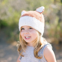 Krochet Kids Children's Fox Hat