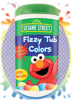 Sesame Street Fizzy Tub Colors Tablets