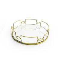 American Atelier Round Mirror Tray