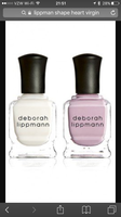 Deborah Lippmann Duet - Shape of my Heart and Like a Virgin