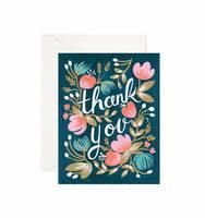 Rifle Paper Co. Garden Thank You card