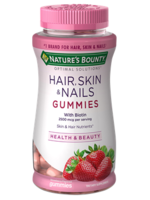 Nature's Bounty Hair and Nails Gummies