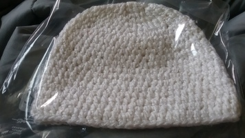 Offwhite knit hat