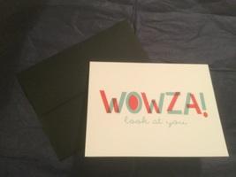 Wowza! Card