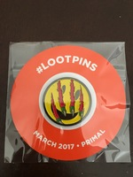 "Loot Crate pin - March 2017 ""Primal"""
