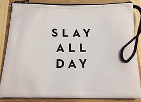 "Milly ""Slay All Day"" Zip Pouch"