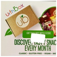 $10 off Urthbox-Snack Sub