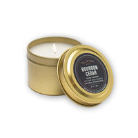 Olivina Man Bourbon Cedar Travel Candle