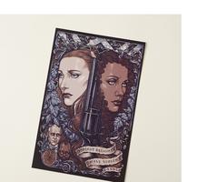 Westworld Wild West vs The Future Art Print