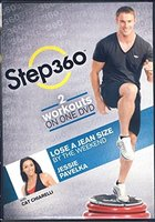 STEP 360 2 WORKOUTS ON ONE DVD WITH CAT CHIARELLI