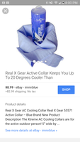 RealXGear active.cooling collar