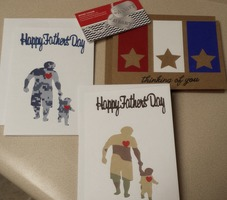 A Navy Heart- Father's Day Cards and Thinking of Your card