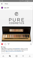Pure Cosmetics limited edition pallette