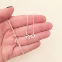 Harry Potter spectacles necklace