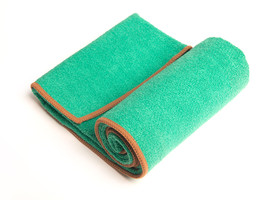 Yogart Yoga Hand Towel in Aqua