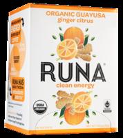 Runa Ginger Citrus Guayusa Tea