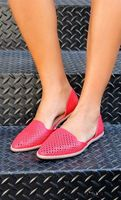 Dbdk red perforated flats