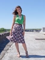 Mata Traders - Madison Pineapple skirt