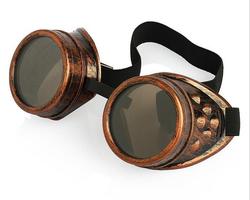 Steampunk Copper Goggles
