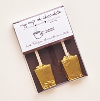 My Cup of Chocolate Dark Belgian Chocolate on a stick