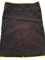 Margaret M Navy Skirt