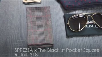 Blacklist Pocket Square